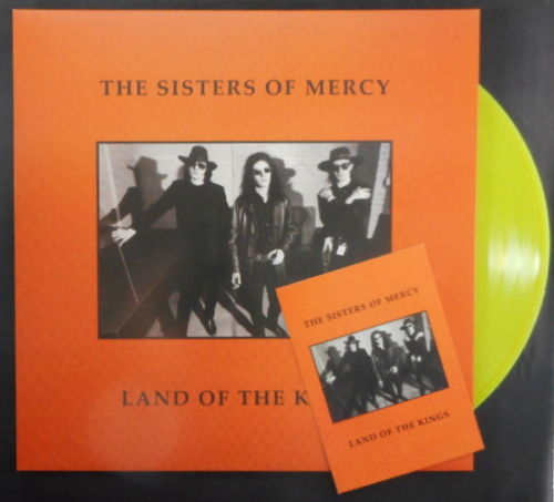 SISTERS-OF-MERCY-LAND-OF-THE-KINGS-YELLOW-VINYL-LP-RARE